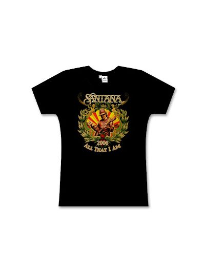Santana Junior's Fitted All That I Am T-Shirt
