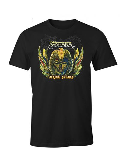 Santana - Africa Speaks T-Shirt
