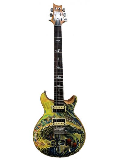 Carlos Santana PRS SE Model with Santana Africa Speaks Art