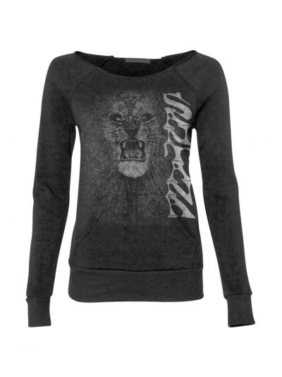 Santana- Junior's Lion Boatneck Sweatshirt