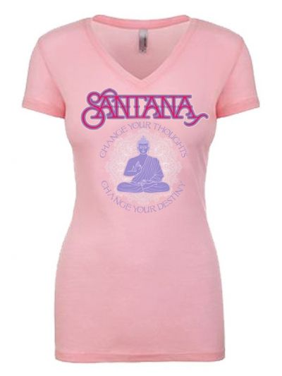 Santana - Change Your Thoughts Ladies V-Neck