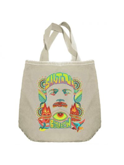 Santana - Corazon Face Tote Bag
