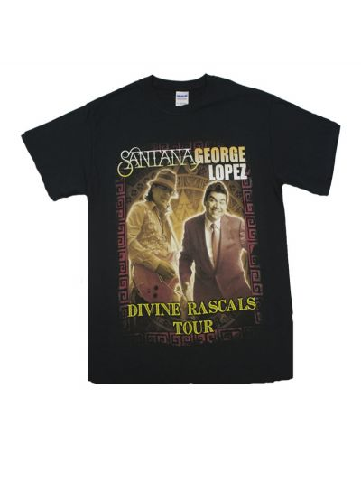 Santana - Divine Rascals Photo 2011 Tour T-Shirt