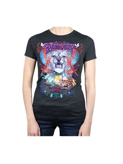 Santana - Collage Juniors T-Shirt