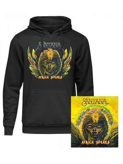 Santana - Africa Speaks CD & Hoodie Package
