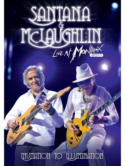 Carlos Santana & John McLaughlin: Invitation to Illumination- Live at Montreux 2011 Blu Ray