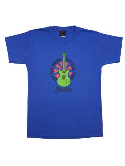 Santana - Let the Music Set You Free Youth T-Shirt