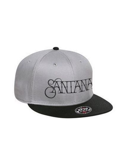Santana - Embroidered Logo Two-Tone Snapback Cap