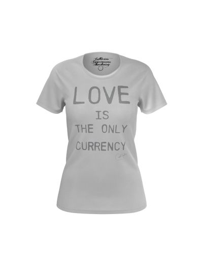 Santana - Love Is The Only Currency Ladies T-Shirt