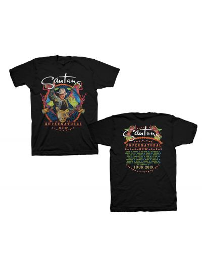 Santana - Supernatural Now 2019 Tour T-Shirt