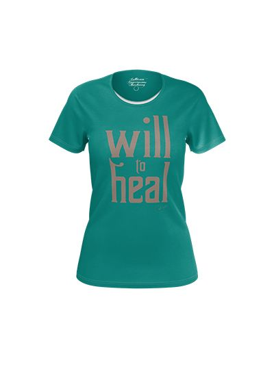 Santana - Will To Heal Ladies T-Shirt
