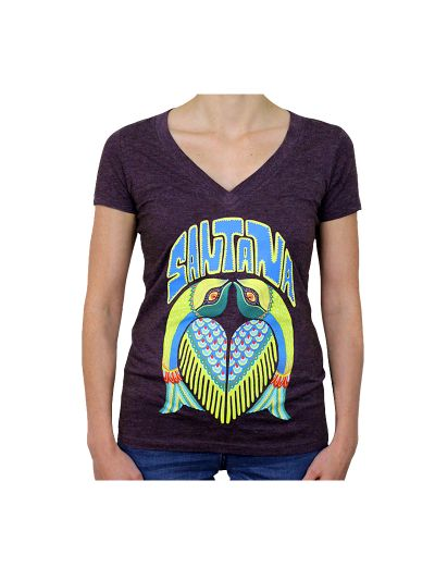 Santana - Flacas Juniors V-Neck Tee