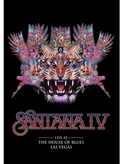 Santana IV: Live at the House of Blues, Las Vegas DVD/2 CD