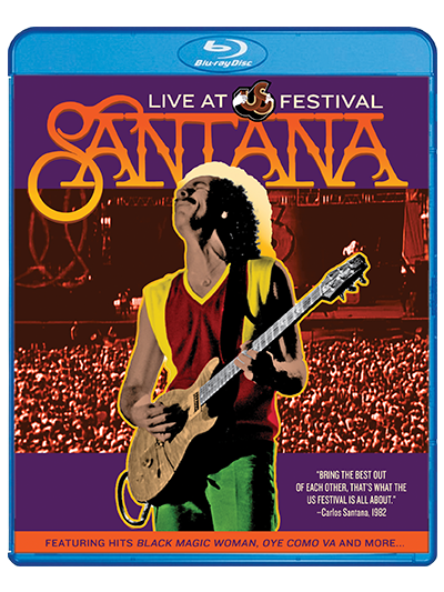 Santana: Live at the US Festival Blue-Ray