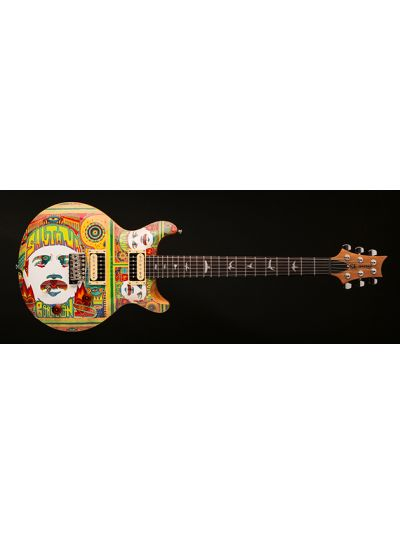 Santana PRS SE Model with Santana Corazon Art