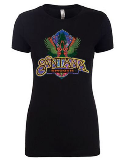 Santana Smooth Logo Juniors T-Shirt