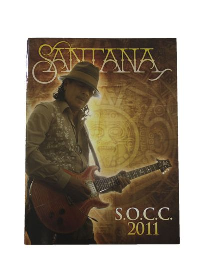 Santana - SOCC 2011 Tour Program