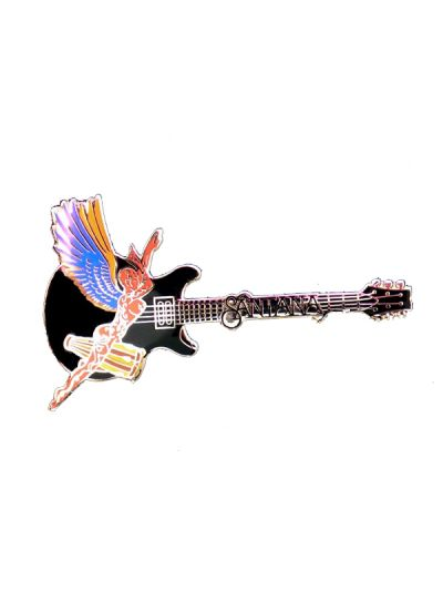 Supernatural Santana - Metal Pin Black