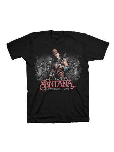Supernatural Santana - Trip Through The Hits Junior's Shirt