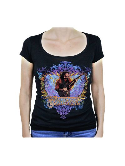 Santana - Winged Heart Junior's T-Shirt