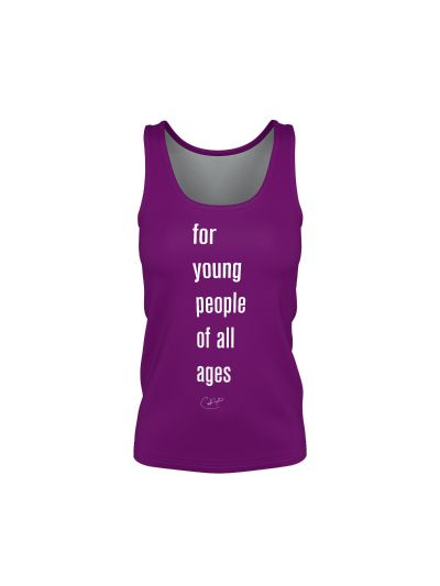 Santana - Young People of All Ages Ladies Tank Top